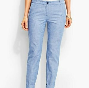 Talbots the weekend chino pants women's 2